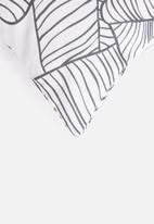 Sixth Floor - Jungle cushion cover - black