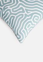 Hertex Fabrics - Brazil outdoor cushion cover - mediterranean