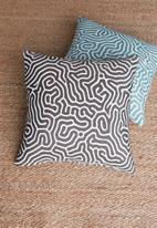 Hertex Fabrics - Brazil outdoor cushion cover - storm