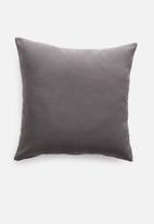 Hertex Fabrics - Samos outdoor cushion cover - anthracite
