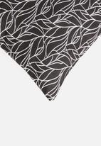 Hertex Fabrics - Samos outdoor cushion cover - black