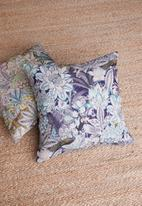 Hertex Fabrics - Komodo cushion cover - teal