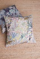 Hertex Fabrics - Komodo cushion cover - blush