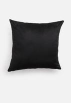 Hertex Fabrics - Sapajou cushion cover - noir