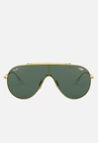 Ray-Ban - Ray-ban 0rb3597 33 sunglasses - dark green