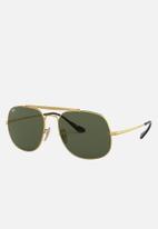 Ray-Ban - Ray-ban 0rb3561 57 sunglasses  - green