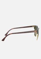 Ray-Ban - Ray-ban 0rb3016 49 sunglasses  - brown & green