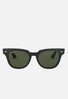 Ray-Ban - Ray-ban meteor 50mm sunglasses  - black