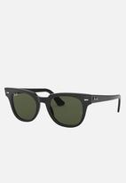 Ray-Ban - Ray-ban meteor 50mm sunglasses  - black