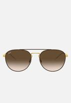 Ray-Ban - Ray-ban rb3589 55 sunglasses  - brown