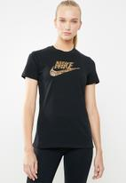 Nike - La short sleeve tee - black