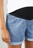 Cherry Melon - Denim summer shorts - blue