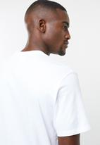 Levi's® - Short sleeve original hm cotton patch tee - white