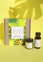 Lulu & Marula - Energising bath & body kit