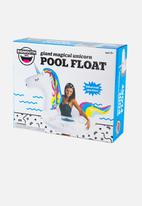 Big Mouth - Unicorn pool float - white