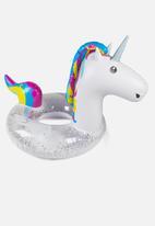 Big Mouth - Unicorn pool float - white