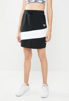Reebok - CL V P jersey skirt - black