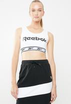 Reebok - CL V bra - white