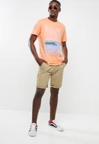 Jack & Jones - Mega short sleeve T-shirt - orange