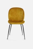 Sixth Floor - Beetle chair - mustard