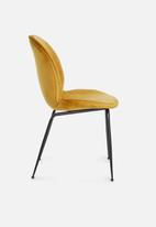Sixth Floor - Beetle chair - mustard