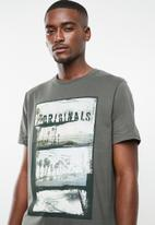 Jack & Jones - Goldie short sleeve crew neck T-shirt - grey
