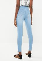Cotton On - High rise jegging - blue