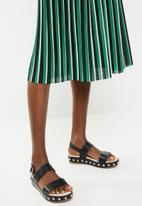ONLY - Hildur pleated skirt - multi