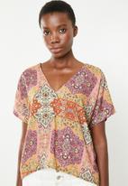Superbalist - V-neck basic blouse - multi