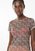 Superbalist - Mesh tee - light floral