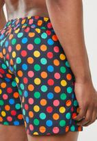 Happy Socks - Big dot swim shorts - multi