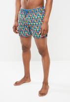 Happy Socks - Hexagon swim shorts - multi