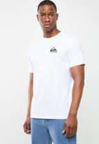 Quiksilver - Omni logo classic short sleeve tee - white