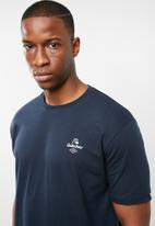Quiksilver - Diamond tails short sleeve tee - navy