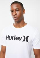 Hurley - Premium one & only solid short sleeve tee - white