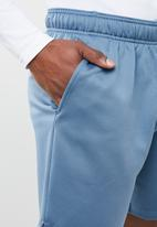 New Balance  - Tenacity fleece short - blue