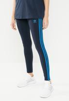 adidas Originals - 3 stripes tights - navy