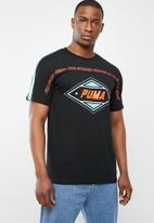 PUMA - Luxtg short sleeve tee - black