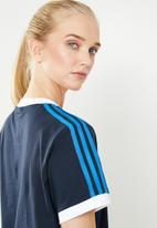 adidas Originals - 3 stripes tee - navy
