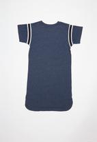Converse - Converse girls yarn dye jersey dress - navy