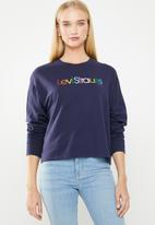 Levi's® - Graphic long sleeve tee - blue
