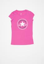 Converse - Converse timeless chuck patch tee - pink