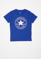 Converse - Converse chuck patch tee - blue