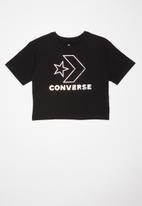 Converse - Converse star chevy silicone boxy tee - black