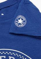 Converse - Cnvb ovrsd chuck patch short - blue