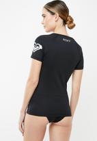 Roxy - Surf rashvest - black