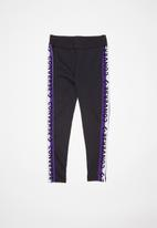 Converse - Cnvg leggings with taping - black
