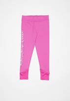 Converse - Cnvg dri fit leggings - pink