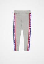 Converse - Cnvg leggings with taping - grey