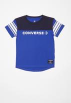 Converse - Converse boys retro sport tee - blue